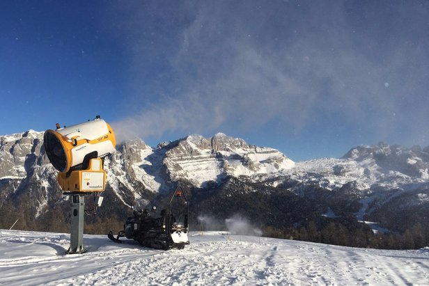 Meteo e Neve per il weekend del 2 e 3 Dicembre- ©Funivie Madonna di Campiglio Facebook