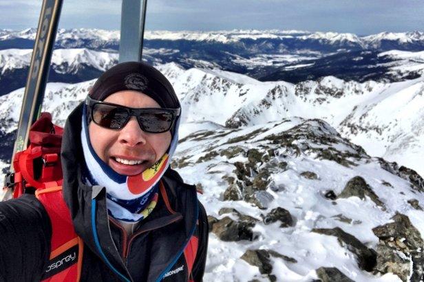Ski mountaineering with Chris Tomer.  - © Meteorologist Chris Tomer