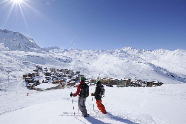 Nejlepším lyžařským střediskem je znovu francouzské Val Thorens