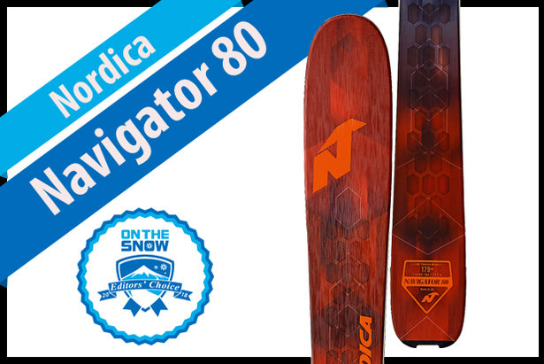 Nordica Navigator 80: Men's 17/18 Frontside Editors' Choice Ski- ©Nordica
