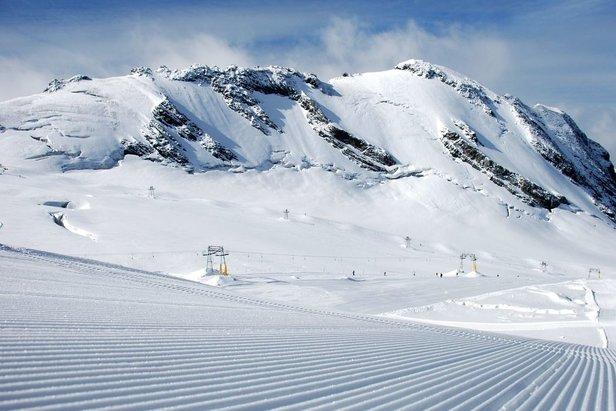 E' iniziata la stagione dello sci estivo a Passo Stelvio! ©Pirovano Stelvio Facebook