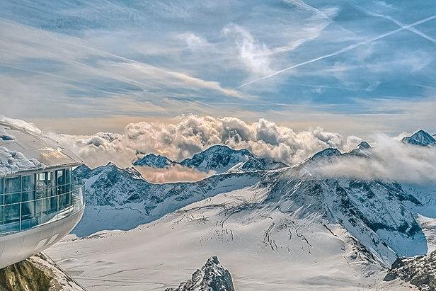 Jaro na tyrolských ledovcích: Sníh, sluníčko a samá akce- ©Pitztaler Gletscherbahn