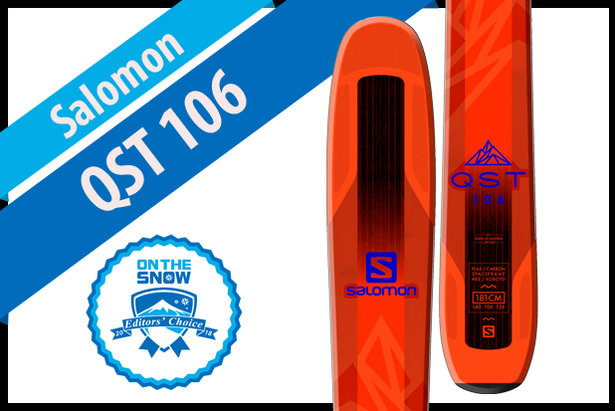 Salomon QST 106: Men's 17/18 Big Mountain Editors' Choice Ski- ©Salomon