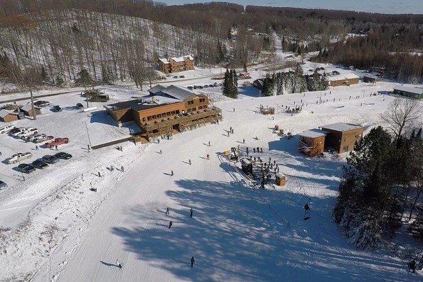 Opening Day At Ski Brule ©Ski Brule Open Day