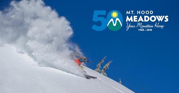 Skiing the powder as Mt. Hood Meadows enters its 50th anniversary season!