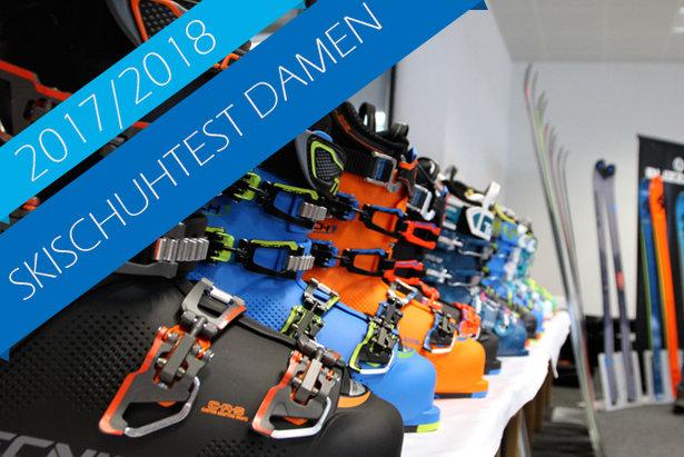 Süchtig nach Schuhen? 31 Skischuhe für Damen 2017/2018 im Test ©Skiinfo