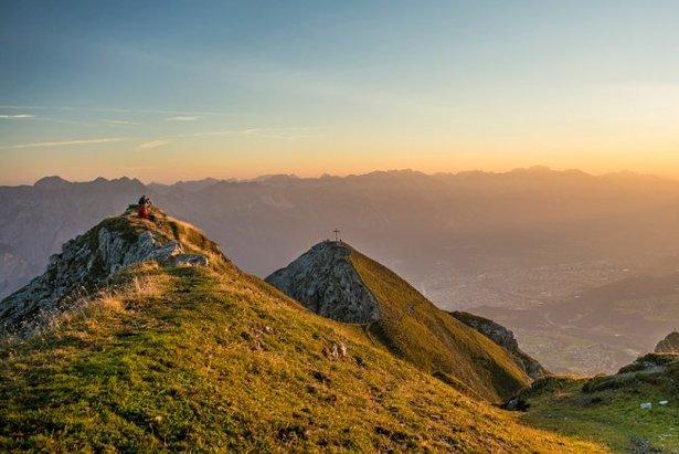 Sonnenaufgang auf der Nockspitze - ©Innsbruck Tourismus