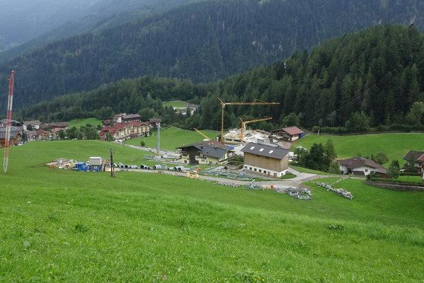 Zillertal: Od zimy 2017/18 bude v provozu nová 10-místná gondola Finkenberg I- ©BAUTAGEBUCH FINKENBERGER ALMBAHNEN I