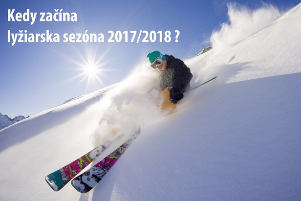 Termíny začiatku lyžiarskej sezóny 2017/2018 - ©Mario Webhofer - Fotolia