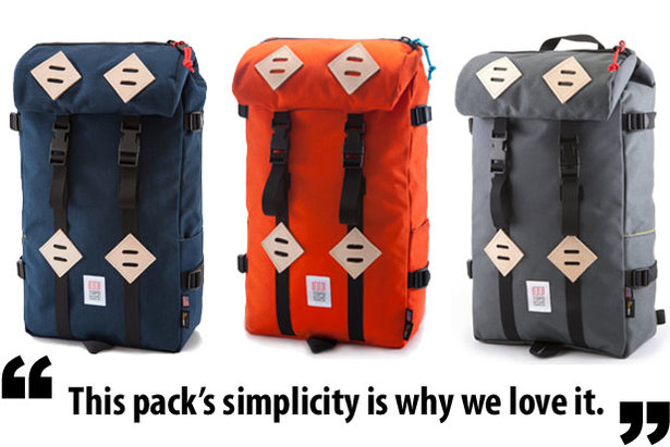 Gear in Review: Topo Designs Klettersack- ©topodesigns.com