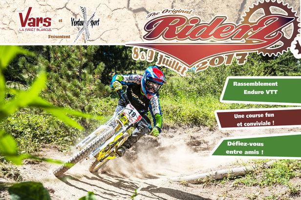 La RiderZ, un rassemblement VTT de type enduro, fun et convivial pour se défier entre amis.