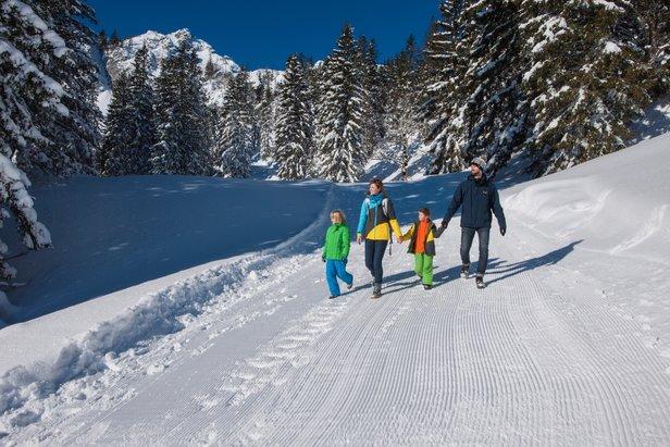 Top vijf winterwandelingen in de Chiemgau- ©Chiemgau Toerisme