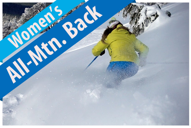 Women's All-Mountain Back Ski Buyers' Guide 17/18- ©Jim Kinney, courtesy of Masterfit Media