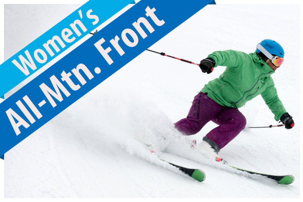 Women's All-Mountain Front ski reviews for 2017/2018.