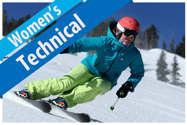 2017/2018 Women's Technical Ski Buyers' Guide.