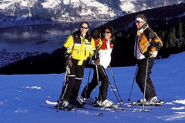 Zell am See - Kaprun_Skifahrer