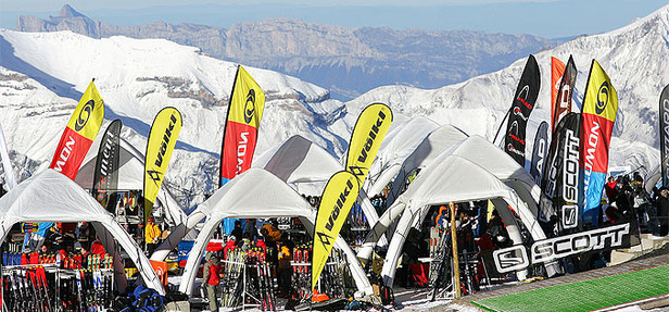 Tests de skis aux 2 Alpes