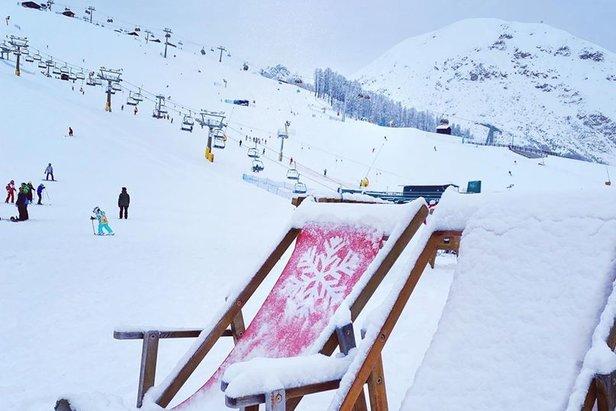 Pohoda na sněhu - Livigno