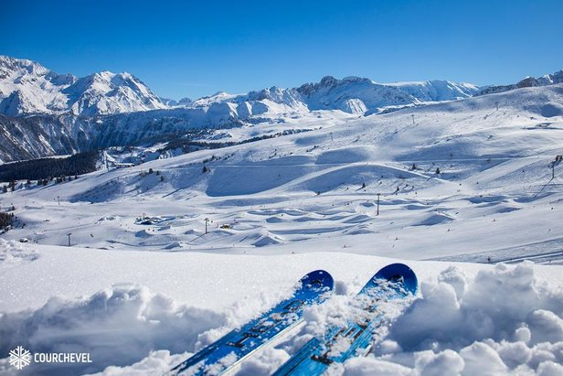 Snowcast for our top 20 ski resorts- ©Courchevel/Facebook