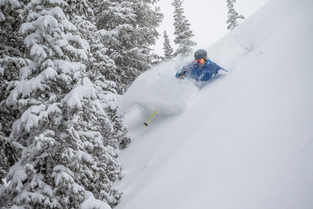 Photo Gallery: Colorado, Utah Get Dumped On- ©Brighton Resort, Chris Pearson/Ski Utah