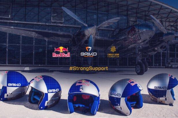 Briko: il casco di Coppa del Mondo è firmato Lindsey Vonn  - © Briko.com