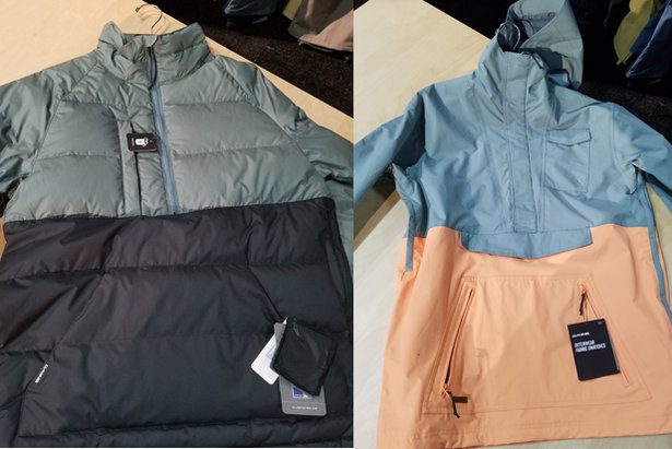 New Dakine men's anorak styles for the 18/19 ski season.  - © Heather B. Fried