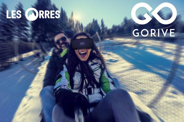 Tentez l'expérience de réalité virtuelle sur la luge l'Orrian Express des Orres Office de tourisme des Orres