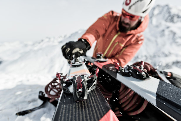 Marker Alpinist: Leichte Karbon-Tourenbindung ©Marker