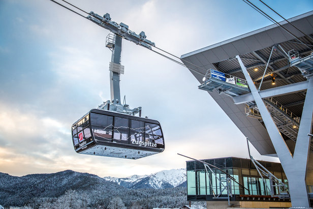 Seilbahn Zugspitze: Neue Kabine kommt im Dezember- ©© Bayerische Zugspitzbahn Bergbahn AG/Max Prechtel