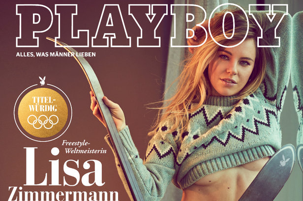 Freestyle-Queen im Playboy: Lisa Zimmermann zeigt sich freizügig- ©Sascha Höchstetter für Playboy März 2018