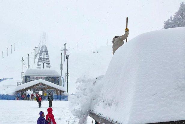 Neve fresca a Prato Nevoso