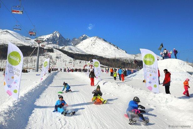 Do Tatranskej Lomnice mieria Snežné psy b0e8f3cc4f6