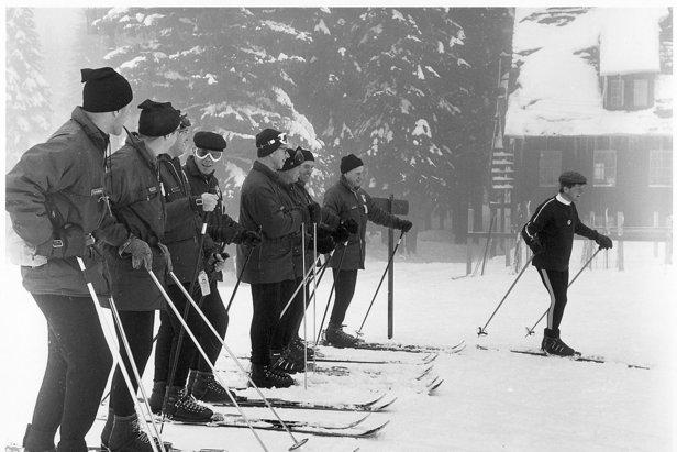 Spout Springs Ski Class, 1966