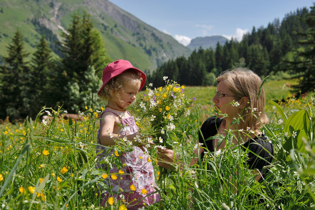 Cet été, direction le Val d'Arly pour un bol d'air pur en famille ©Agence Clair de lune