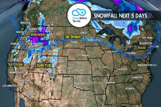 4.26 Snow Before You Go: Bulk of New Snow Targets West - ©Meteorologist Chris Tomer