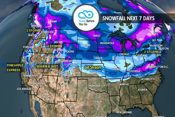 4.5 Snow Before You Go: Pineapple Express to Dominate West