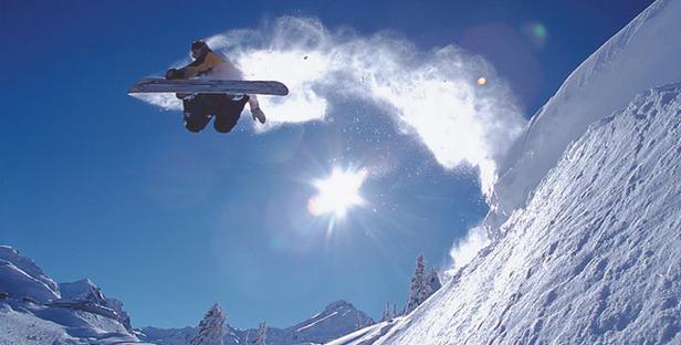 Montafon_Snowboarder