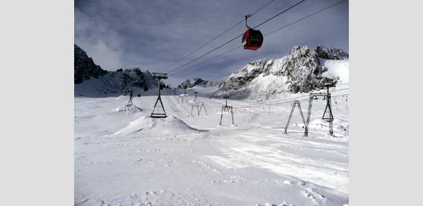 Eröffnung am Stubaier Gletscher