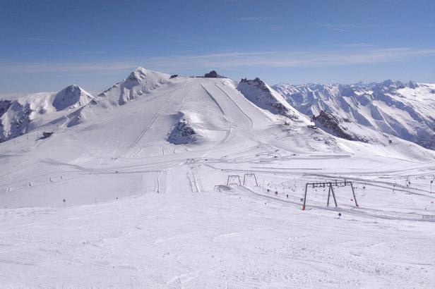 Les joies du ski à Hintertux au mois de mai