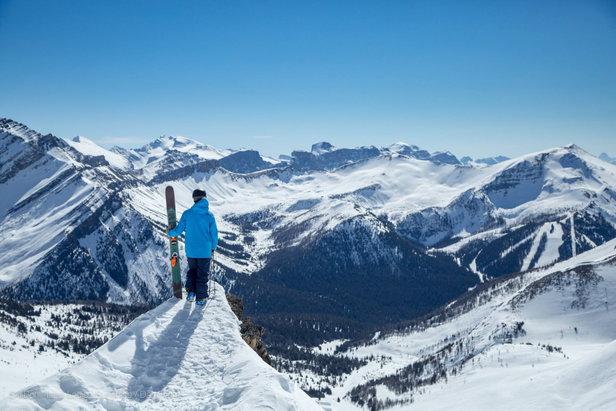 Ski et neige au programme du mois de mai à Banff