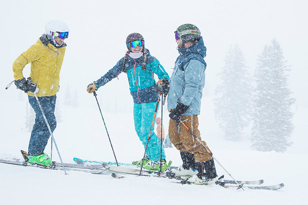 Grab some friends and experience a legendary weekend together.  - © Alta Ski Area   Adam Clark