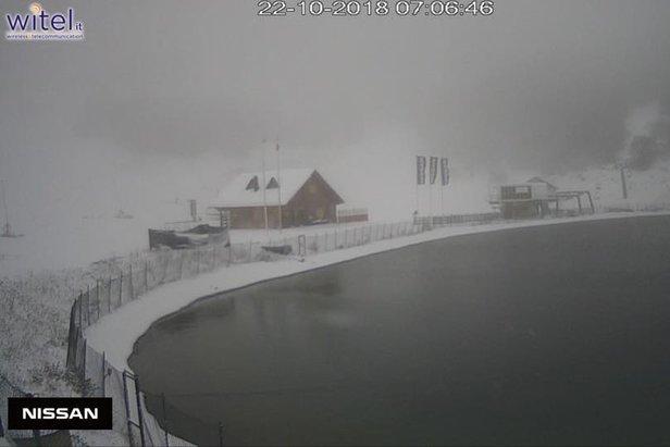 Prima neve in Abruzzo! Campo Felice 22.10.18