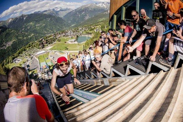 RED BULL 400, la course la plus raide du monde est de retour à CourchevelVincent Curutchet / Red Bull Content Pool