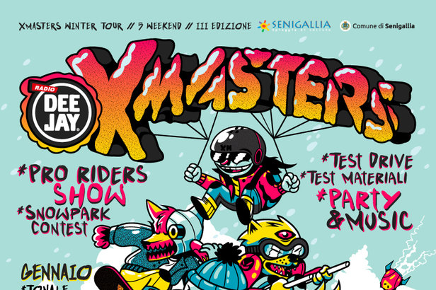 Riparte il DEEJAY Xmasters Winter Tour 2019