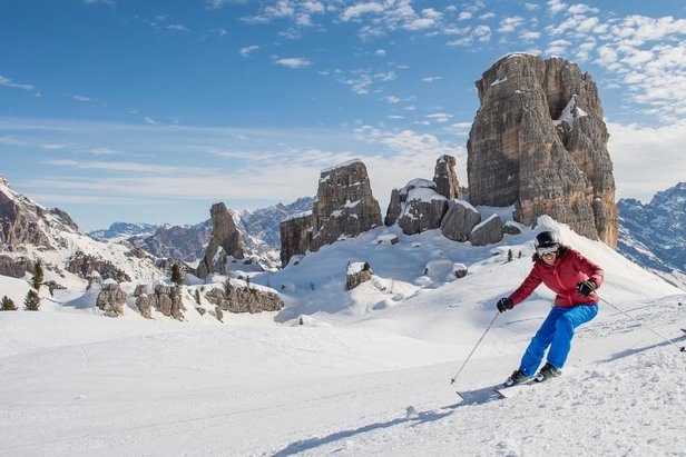 Awesome scenery in Cortina (Dolomiti Superski)  - © www.dolomitisuperski.com