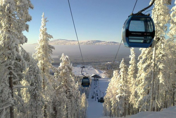 Empty slopes and no lift queues in Levi, Finland  - © Hannu K/Facebook