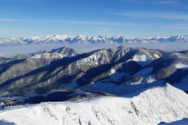 Kde na Slovensku sa lyžuje a koľko je snehu ©TMR, a.s.