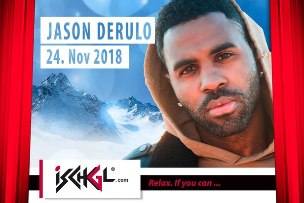 Spektakulärer Auftakt: Internationaler Superstar Jason Derulo wird Opening-Act in IschglIschgl.com / Presse