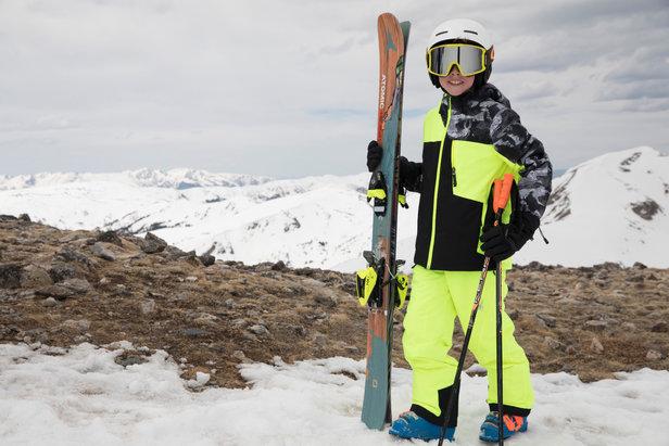 Comment choisir un vêtement de ski pour enfant ? ©Spyder