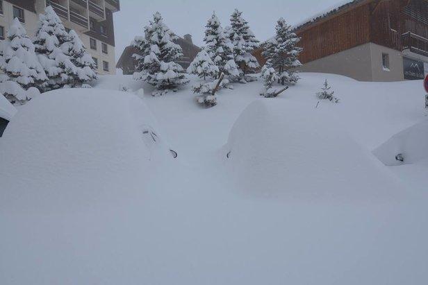 Gallery: Big snowfalls in the AlpsLes Menuires/Facebook
